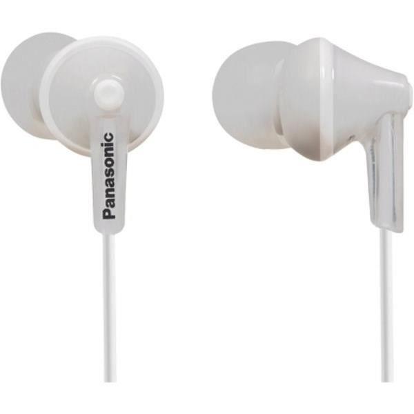 PANASONIC HJE125 Écouteurs intra-auriculaires - Design ErgoFit - Blanc