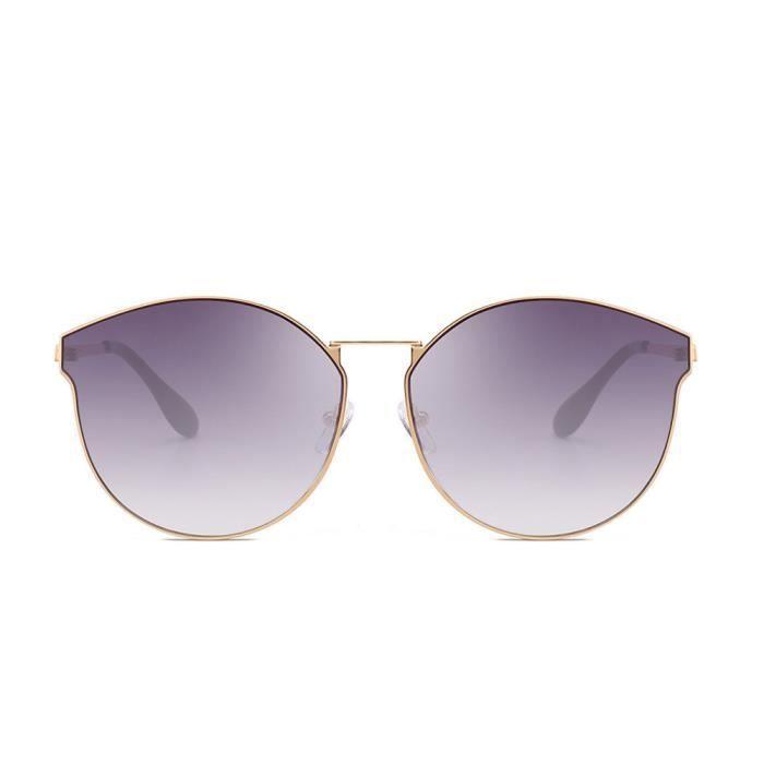 Deuxsuns®Femmes Hommes Retro Fashion Shades Lunettes de soleil Lunettes UV intégrées@zf119