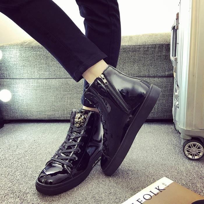 seniors 44 d'hiver d'hiver 39 Taille bottes hommes neige Chaussures de Bottes British Mode Style Les Xqzt6wX