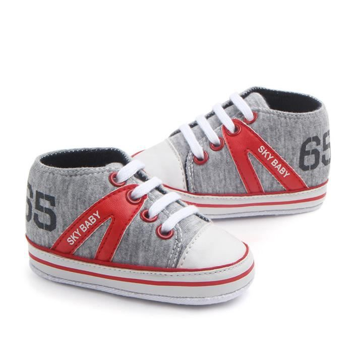 Lavieni ®Nouveau-né infantile garçon fille High Help lettre chaud anti-dérapant chaussures Sneaker XYY71223511 Rq8CFCveh