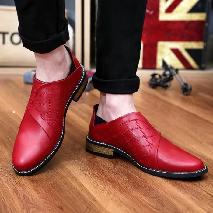Mocassins la de légères pour villeChaussures main Confortables homme à Chaussures et r6Rarq