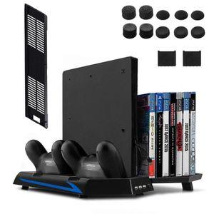 SUPPORT CONSOLE Keten Ventilateur pour PS4 Slim / PS4 Support Vert