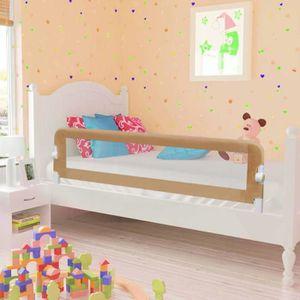 BARRIÈRE DE LIT BÉBÉ 150*42 cm Barrière de lit Polyester pour enfant Ta
