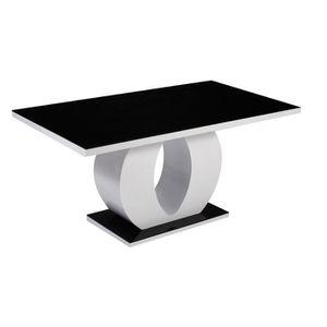 Table à manger noir - Achat / Vente Table à manger noir pas cher ...