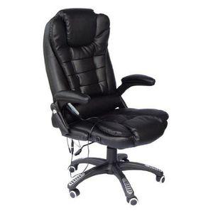 fauteuil bureau massage achat vente fauteuil bureau massage pas cher soldes d s le 10. Black Bedroom Furniture Sets. Home Design Ideas