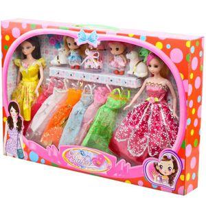 POUPÉE Ensemble-cadeau Barbie Princesse Barbie accessoire