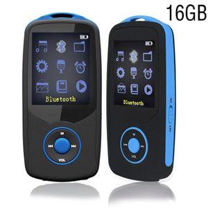 LECTEUR MP3 chenfec mini lecteur mp3 bluetooth 16 Go Sport Cou