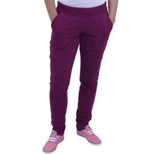 pantalon coq sportif femme violet