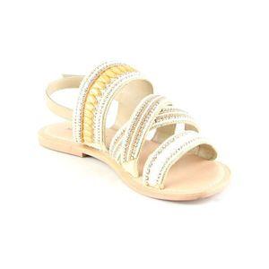 SANDALE - NU-PIEDS Sandales à talon - beige