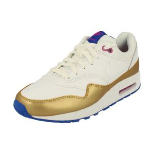 super popular f544d 214e1 BASKET Nike Air Max 1 GS Running Trainers 807605 Sneakers