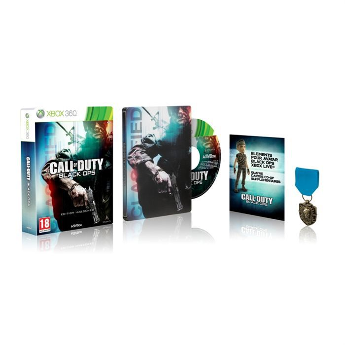 JEUX XBOX 360 CALL OF DUTY BLACK OPS Collector / Jeu XBOX360