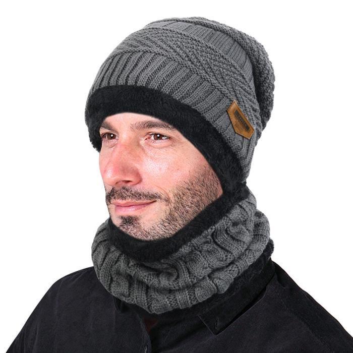 bonnet tour de cou homme achat vente bonnet tour de. Black Bedroom Furniture Sets. Home Design Ideas