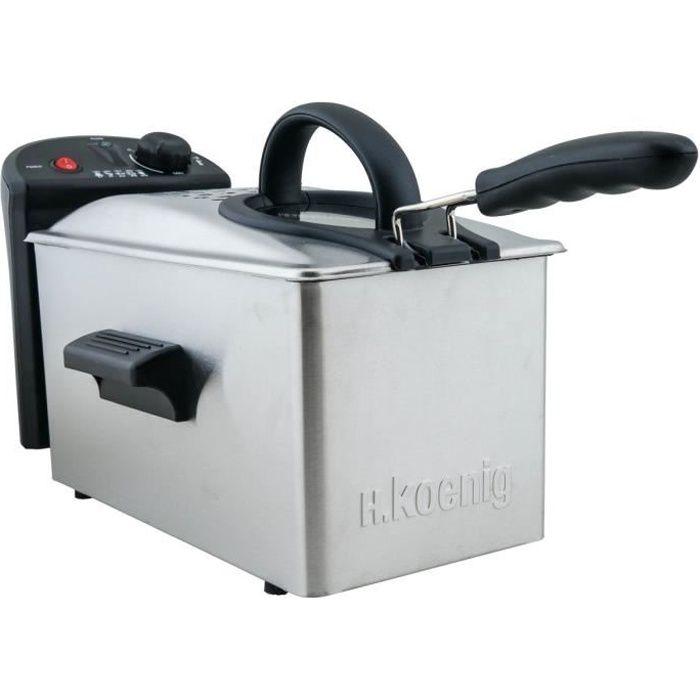 FRITEUSE ELECTRIQUE H.KOENIG DFX300 Friteuse électrique semi-professio