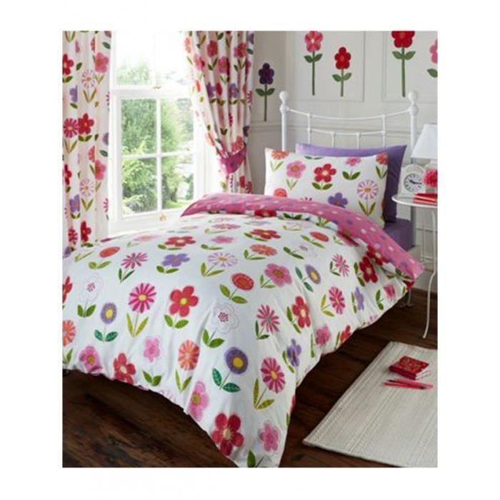 housse de couette petites fleurs achat vente housse de couette petites fleurs pas cher. Black Bedroom Furniture Sets. Home Design Ideas