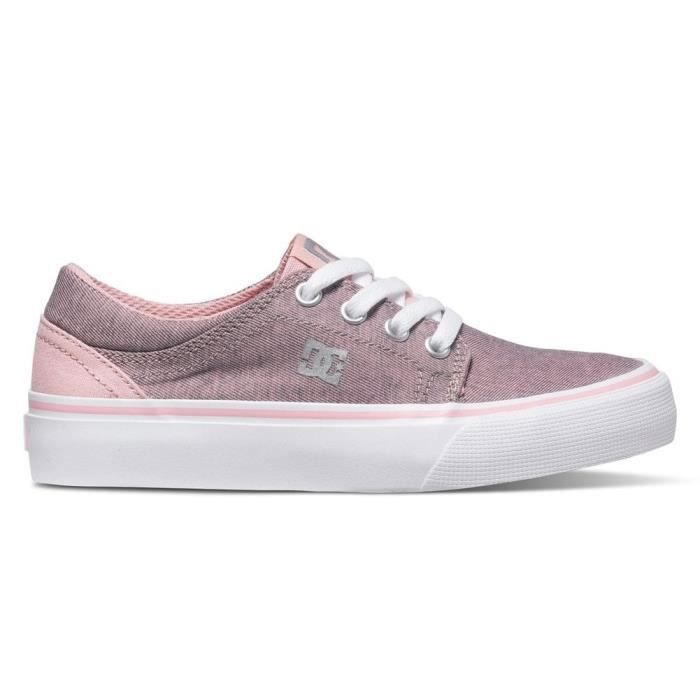 Chaussures DC Trase Tx Se Youth Pwo Pink