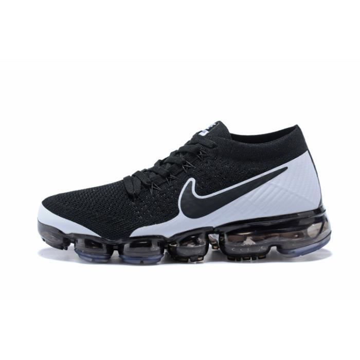 Nike Air VaporMax Flyknit Chaussure De Running Noir pas Blanc Prix pas Noir 00cd0f