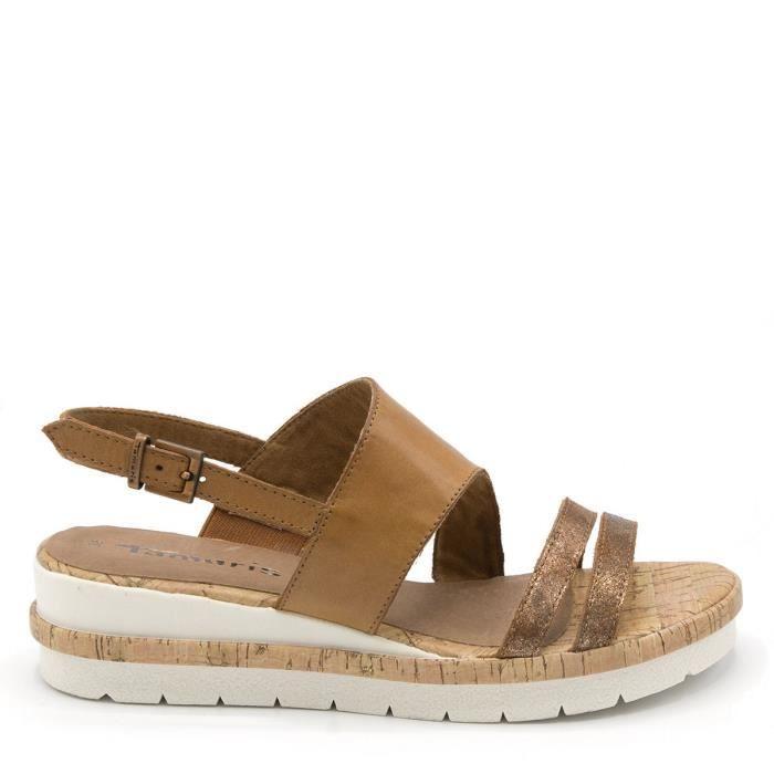 315f1952819 Sandales   nu pieds Femmes TAM Marron Marron - Achat   Vente sandale ...