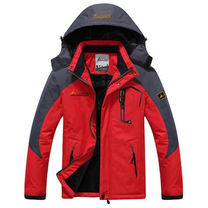 De Mountain Softshell Veste Homme Pièce Ski Imperméable Jacket 1 THqRfwR
