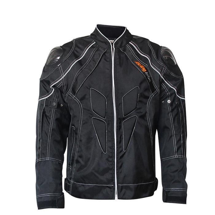 saison manteau hors chaud de veste Moto de protection hommes pleine de Motorcross doublure moto route pour vêtements course mNOv80wynP