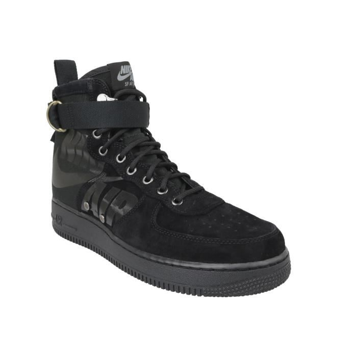 new styles 1d269 7d875 BASKET Nike SF Air Force 1 Mid 917753-008 sneakers pour