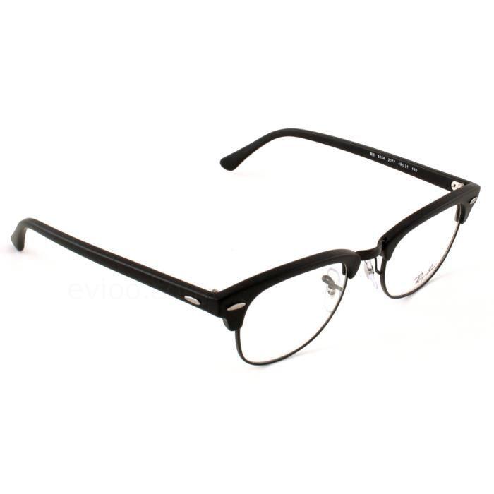 8d237d9b7f6c8 Ray Ban rx 5294 Noir Taille   49 Noir - Achat   Vente lunettes de ...