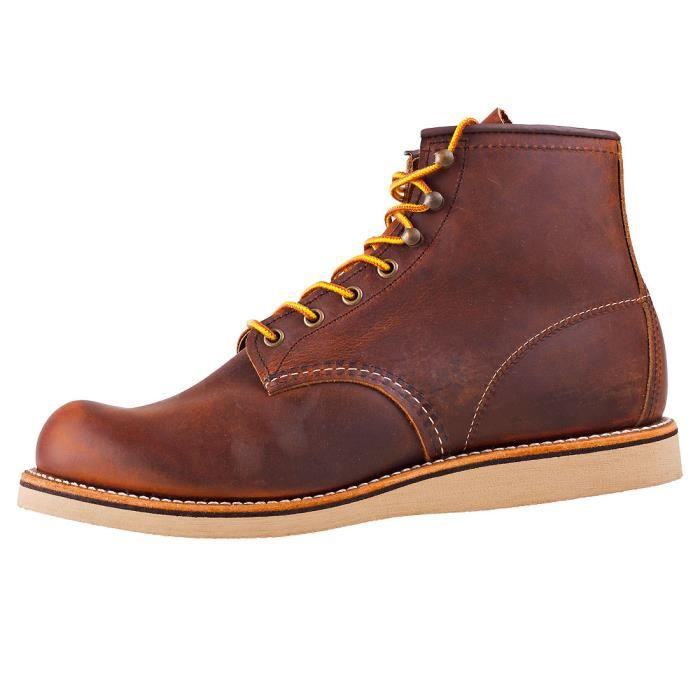 Red Wing Rover Heritage Hommes Bottes Cuivre - 7 UK KaRQ4