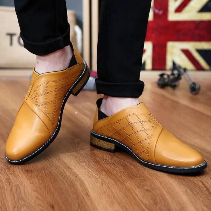Mocassins pour homme Chaussures de villeChaussures à la main Confortables et légères