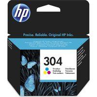 CARTOUCHE IMPRIMANTE HP Cartouche d'encre 304 - Trois couleur : Jaune,