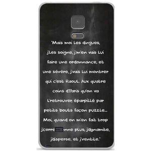 COQUE - BUMPER Coque TPU gel souple Samsung Galaxy Note 4 N910 de