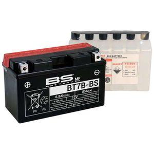 BATTERIE VÉHICULE Batterie BS BT7B-BS AVEC ACIDE (YT7B-BS)