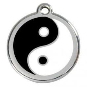 IDENTIFICATION Médaille 20Mm Red Dingo Ying Et Yang