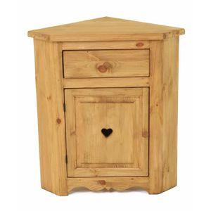 petit meuble d 39 angle achat vente petit meuble d 39 angle pas cher cdiscount. Black Bedroom Furniture Sets. Home Design Ideas