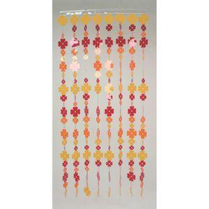 rideau fleur rouge achat vente rideau fleur rouge pas cher cdiscount. Black Bedroom Furniture Sets. Home Design Ideas