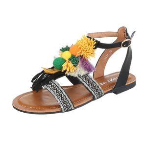 Chaussures femme sandales Strappy noir 41 lntEnl
