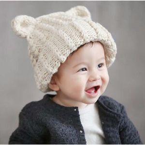 ZLY70814786BG® Nouveau-né Bébé Infant Tricoté Chapeau Crochet ... 7071a798605