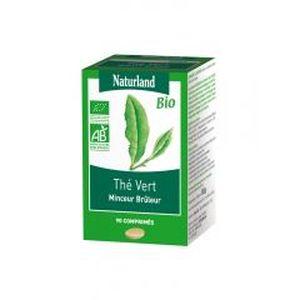 COMPLÉMENT MINCEUR Naturland Thé Vert Bio 90 Comprimés