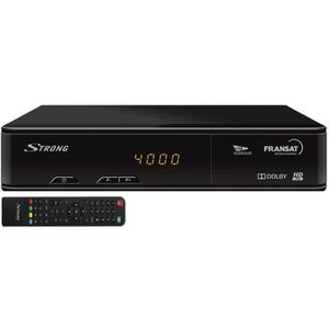 RÉCEPTEUR - DÉCODEUR   STRONG Récepteur boitier TV satellite HD vendu san