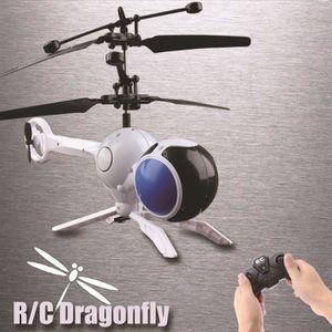 DRONE TEMPSA Jouet Hélicoptère Télécommande RC Libellule