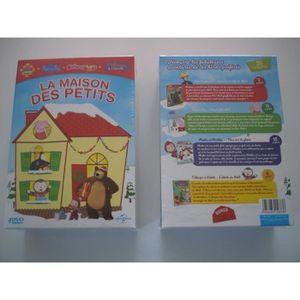 DVD DESSIN ANIMÉ Coffret 4 DVD LaMaison des Petits - Peppa - Sam -