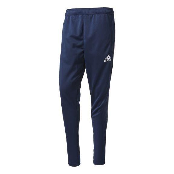ADIDAS Pantalon d'entrainement Tiro 17 - Homme - Bleu et blanc