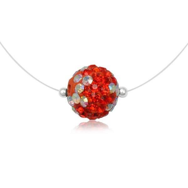 Collier Cristal Preciosa Rouge