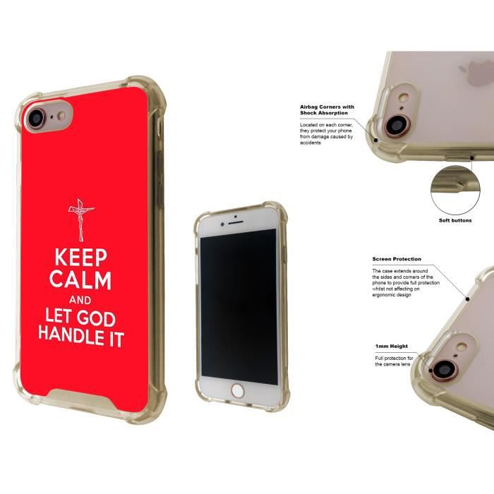 coque iphone 8 plus keep calm