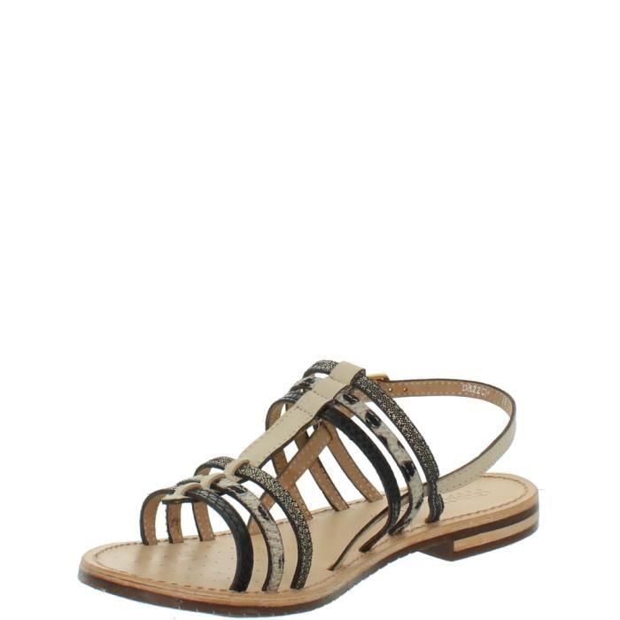 Sandales Geox Sozy ref_geo42914-creme
