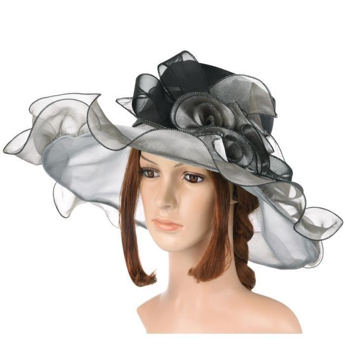 nouveau style de 2019 luxe éclatant Vbiger Chapeau de Soleil Femme Anti-UV Pliable Avec Dentelle Eté