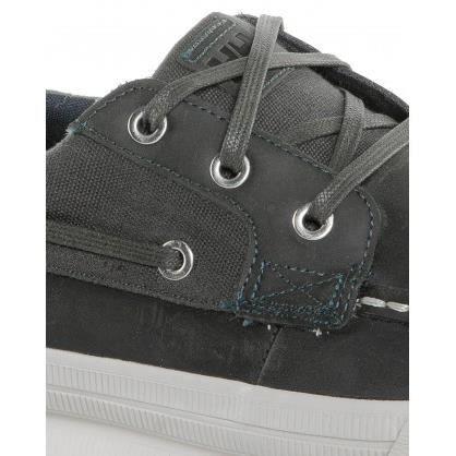 Chaussures Bateau Bleu Navy Avec Lacets ACo1GYW2A
