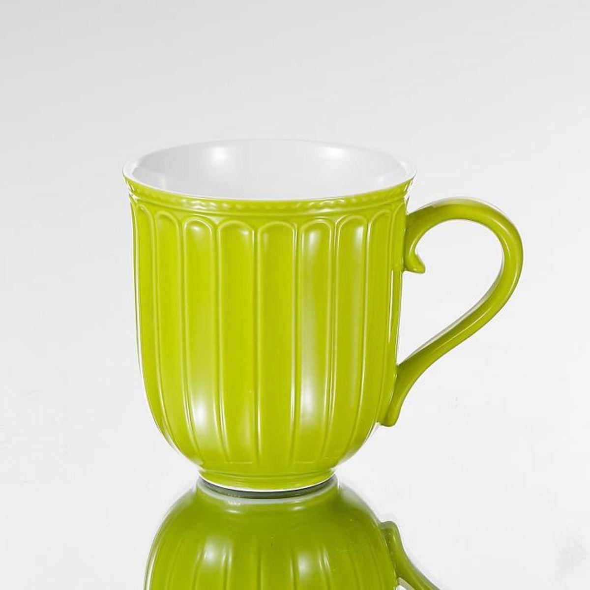 9 Porcelaine 8 Thé 7cm Mugs 12 8 350ml Panbado À Café 6pcs Tasse OPkXwuTZi