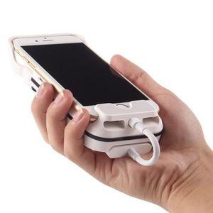 Lampe vidéoprojecteur Vidéoprojecteur Mini Cinéma Mobile pour Iphone 6 &