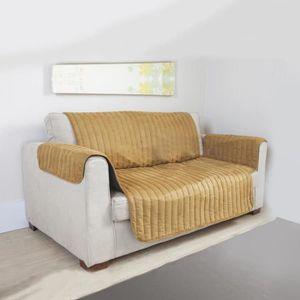 couvre canape 3 places achat vente pas cher. Black Bedroom Furniture Sets. Home Design Ideas