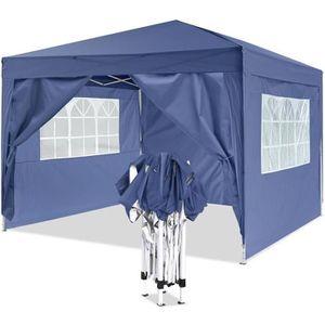 TENTE DE CAMPING Tente de réception pliante auvent avec sac de tran