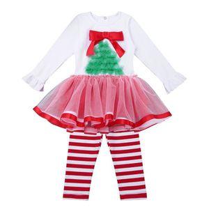 34030920c2d45 Ensemble de vêtements Ensemble de Vêtement Bébé Fille Noël Costume Tutu
